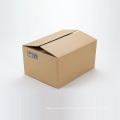 Boîtes en carton ondulé d'exportation marron imprimées