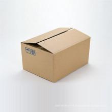 Cajas de cartón ondulado marrón impresas para exportación