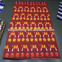 100% coton tissu prix en gros super luxe africain cire imprimé tissu