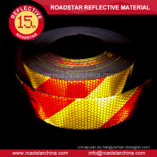 panal de pvc impresas tira reflectante adhesivo para el carro