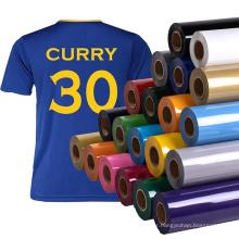 Wholesale HTV Vinil Roll PVC Material Heat Transfer Vinyl for Jersey Textiles