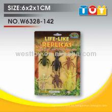 TPR caucho animal insectos conjunto surtido para niño