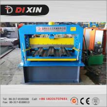 Rolo de aço galvanizado da plataforma do assoalho de aço que forma a máquina
