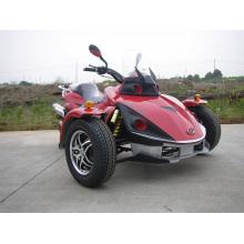 Course de Tricycle rouge Moto VTT avec 250cc (KD 250Mo 2)