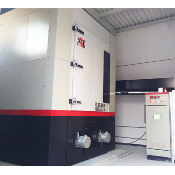 School heating electric boiler