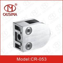 Aço inoxidável Die Casting Glass Clamp Spigot para tubo de corrimão (CR-053)