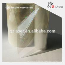 Heißer Verkauf 3D transparente Hologramm Laminierung Filmrolle