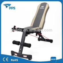 Banco abdominal acolchoado de casa de inclinação ajustável declínio ginásio peso supino Fitness equipamentos