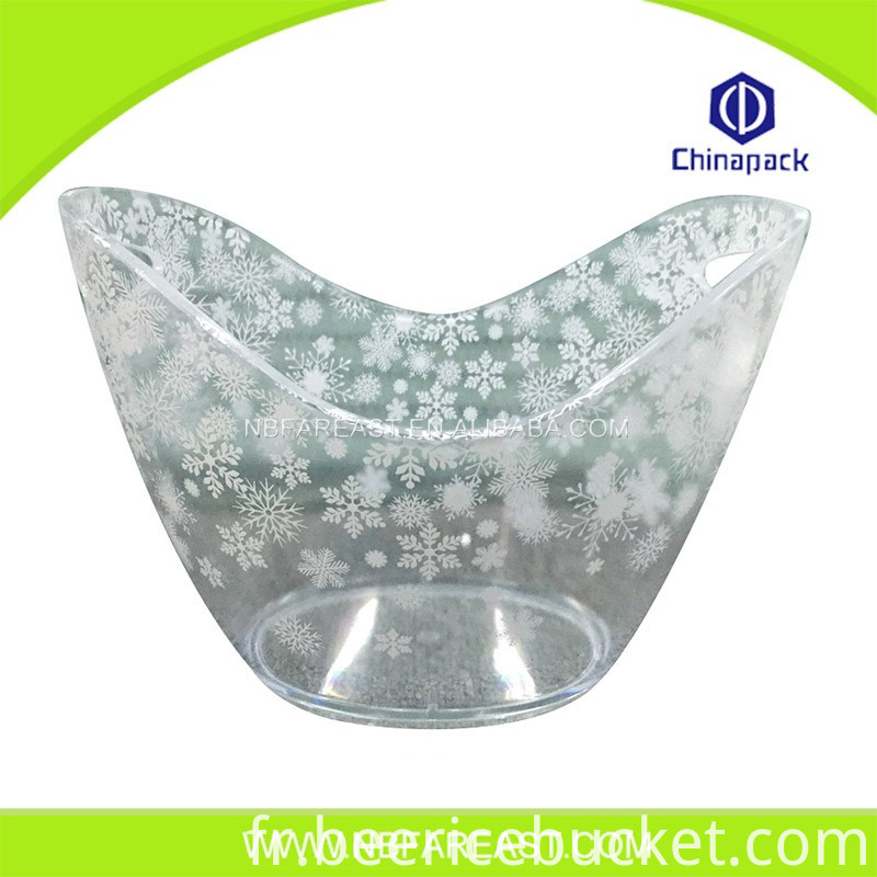 Promotion custom unique shaple ice bucket