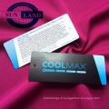Tissu maillé 100% polyester coolpass évacuant la transpiration et absorbant l'humidité