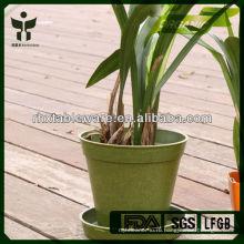 Биоразлагаемые декоративные бамбуковые цветочные горшки