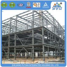 Manufacturer china aluminum alloy window steel construction prefabricated storage warehouse