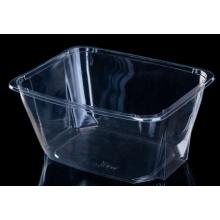 Fruits vegetables plastic transparent salad bowl