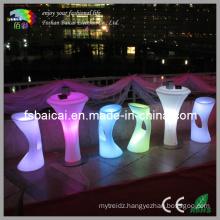 Pub LED Stools and Table