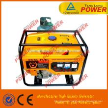 CASA uso gerador de LPG, 6.5 kW, duplo combustível, fase 3