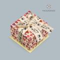Caja de joyería de moda caja de anillo de joyería blanca