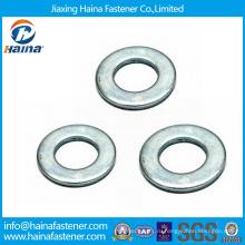 Высокая прочность Углеродистая сталь HDG F436 / Нержавеющая сталь DIN125 Плоская шайба