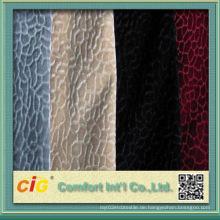 Neues Design Flocking Auto Fabric
