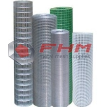 Galvanized Welded Wire Cloth dengan 18 Gauge Wire