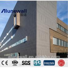 Alunewall Copper Composite Panel CCP / Outside Wall Facade / Advanced Constrcution Materials