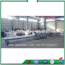 Línea de producción de pretratamiento de espárragos para congelación rápida