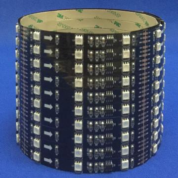 Tira de LED RGB 5050 IP65 Epoxi DC5V LED Tiras Ws2812b