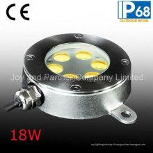Lampe de piscine ou sous-marine IP68 18W LED (JP94262)