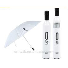 Weinflasche Regenschirm / Regenschirm anpassen / 21 Zoll / Regen Schatten