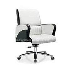 Chaise de bureau de bureau de base en cuir véritable de haute qualité (HF-B1517)