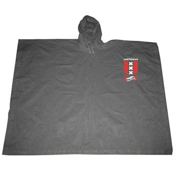 Gray Waterproof pvc Poncho