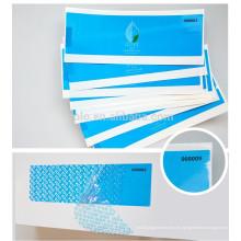 Etiquetas engomadas de encargo impermeables de la garantía de la etiqueta del sello de la seguridad de la impresión