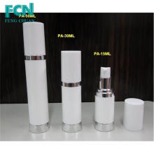 15ml pp airless pump bottle plastic cosmetic empty packaging