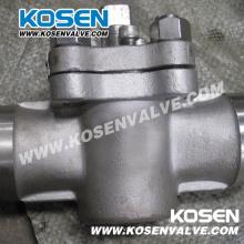 Luva de aço inoxidável válvulas de plugue (X63F) de vedação macia