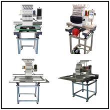 High-Speed-Cap und flache Stickmaschine, computergesteuerte Einzelkopf-Stickmaschine