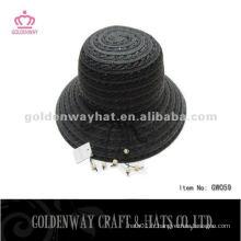 Chapeau Black Black Bowler GW059