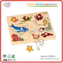 Wooden Sea Animal Puzzle