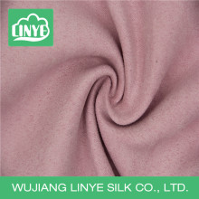 100% polyester plain dyeing upholstery sofa microfiber suede fabric