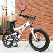 Novo! ! ! Bicicleta de montanha com suspensão total de liga de alumínio de alta qualidade