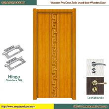 PVC Sliding Door Cheap PVC Door Craved Wooden Door