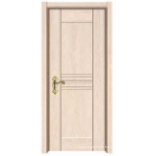 Hot Sale Simple Design Solid Wooden Entrance Door