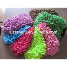 Toalla del guante del cepillo del Mitt de la limpieza del lavado de la felpa de la microfibra para el coche
