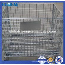 Cage de stockage en métal / conteneur de treillis métallique pour wearhouse