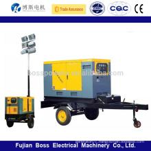 5-1500kw Water cooled diesel generator mobile