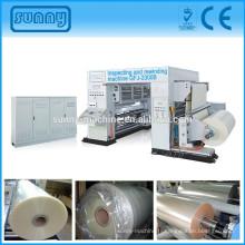 Rouleau d'impression film étiquette inspection machine qualité Web vérification de toutes sortes de film imprimé
