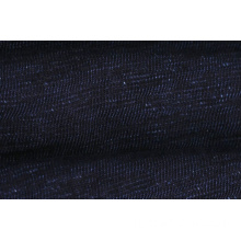 Popular Black Color Slub Denim Fabric Low Price