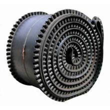 Industrial Rubber Skirt conveyor Belt /Height Adjustable rubber conveyor belt