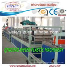 High quality of WPC PVC door making machine line
