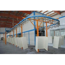 Mebel Hardware Spray Coating lukisan baris