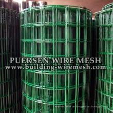 Konkurrenzfähiger Preis PVC Plastik beschichtetes geschweißtes Drahtgeflecht