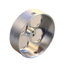 Pieza de acero de la máquina CNC